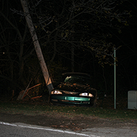 Car vs Tree - OWI Accident