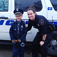 Officer Besso - Halloween Patrol