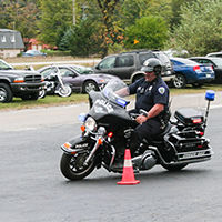 Officer Moll - Motorcycle Training